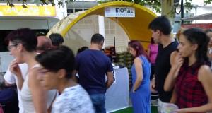 Moito público e actividades infantís no peche do Mercaberto