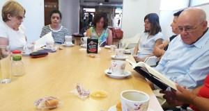 """Conclúe o """"Club de Lectura… e café"""" en Trives"""