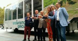 """O """"enotruck"""" de Enoturismo de Galicia chega a Ourense"""