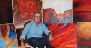 """Exposición de pintura """"Dous de Lugo polo Sil"""", en Quiroga"""