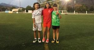 Tres nenas do C.D. Rúa, convocadas pola selección Ourense sub 12 feminina