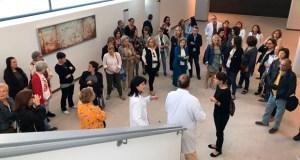 As asociacións de pacientes visitan o novo edificio de hospitalización do CHUO