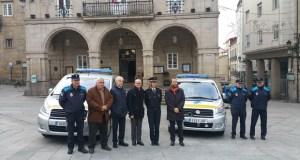A Policía Local de Ourense incorpora dous novos vehículos cedidos pola DXT