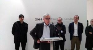 """Xosé Cid trae a súa """"Materia Infinita"""" á Sala Valente de Ourense"""