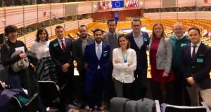 Os xoves empresarios ourensáns visitan as institucións europeas en Bruxelas