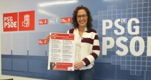 """Noela Blanco (PSOE) presenta o seu decálogo """"para pasar páxina na provincia"""""""