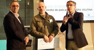Lolo Andrade, premiado no Expoforum Noroeste Biofim polo seu labor na loita contra a velutina