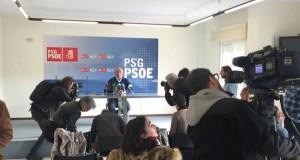Pachi Vázquez presenta a súa precandidatura á secretaría xeral do PSdeG de Ourense