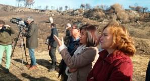 Medio Rural protexe os montes de Melón e Carballeda de Avia tras os lumes