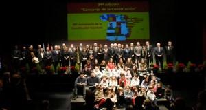 Cinco valdeorreses do Divina Pastora gañan o premio do Concurso da Constitución