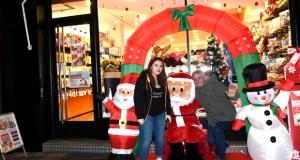 Papá Noel chega ao Barco da man de Pc-Red Exclusivo