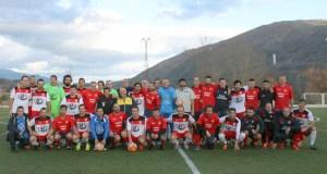 Deportividade e solidariedade no derbi disputado no Aguillón