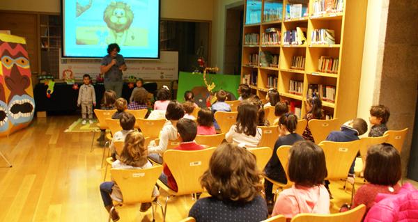 Teatro infantil na Biblioteca de Verín