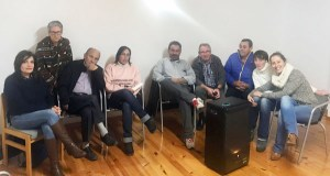 Noela Blanco reúnese coa agrupación socialista de Viana do Bolo