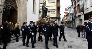 A Policía Local do Barco de Valdeorras honra ao seu patrón