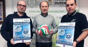 O Club Voleibol San Martiño e o Club Voleibol Ourense enfrontaranse no Torneo de Nadal
