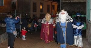 Petín despide o Nadal coa recepción dos Reis Magos na Casa da Cultura