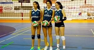 Dúas quiroguesas, convocadas pola Federación Galega de Voleibol