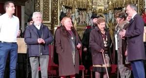"""As Cantareiras de Placín (Manzaneda), protagonistas do """"Concerto de Reis"""" da Real Banda de Gaitas da Deputación de Ourense"""