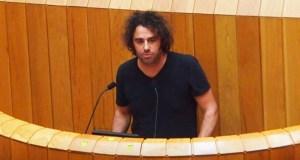 Davide Rodríguez (En Marea) plantexa no Parlamento galego a perda de superficie agraria e de explotacións