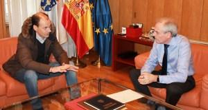 Reunión do subdelegado do Goberno en Ourense co alcalde de Vilar de Santos