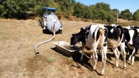 Malestar entre os gandeiros do oriente ourensán pola porcentaxe concedida nas axudas para melloras nos subministros de auga