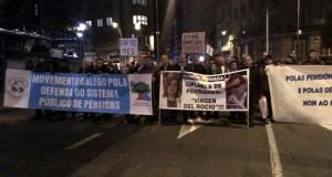 Mobilización en Ourense contra a suba do 0,25% das pensións