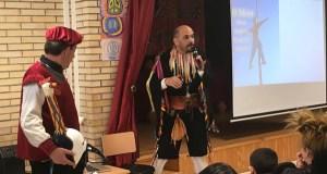 A Festa da Pita preséntase nos colexios ourensáns do Couto e de Seixalbo