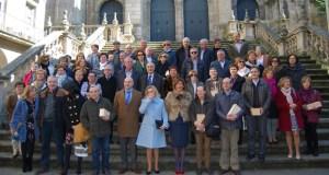 Un cento xubilados do Sergas de Ourense no 2017 reciben unha homenaxe
