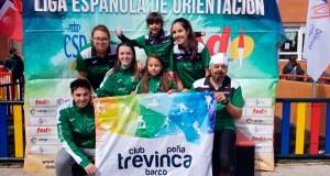 O Club Peña Trevinca Barco participa na liga nacional de orientación