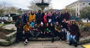 """Os participantes no Intercambio Xuvenil Internacional """"Movilízate"""" colaboran coa protectora municipal de Ourense"""