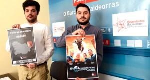 """As Xuventudes Socialistas do Barco reivindican que """"Valdeorras existe"""""""