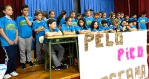 A carreira/ andaina solidaria do CEIP Condesa de Fenosa celébrase mañá, 26 abril, ás oito da tarde