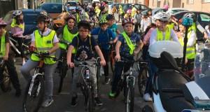 Soleado Día da Bici polas rúas da Valenzá (Ourense)