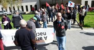 """Mobilización da CIG no Barco en defensa do """"sistema público de pensións"""""""
