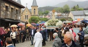 Fontei (A Rúa) pecha a Festa de Fátima coa procesión da despedida