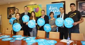 """Ponse en marcha no comercio ourensán a segunda edición da campaña """"Días Azuis"""""""