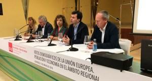 Os retos demográficos, analizados nunha xornada organizada polos socialistas en Ourense