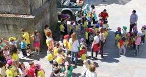 Correlingua polas rúas de Trives o 16 de maio