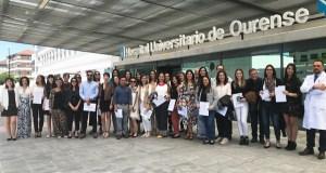 Un total de 35 residentes rematan a súa formación nas unidades docentes de Ourense