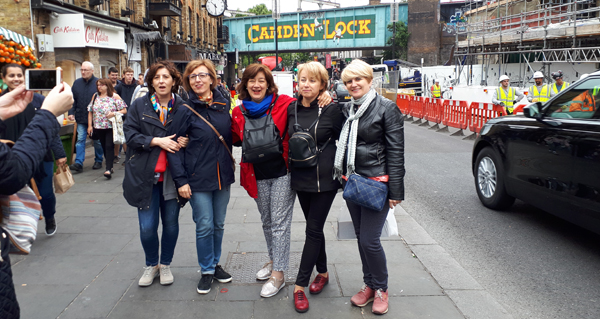 Excursión de alumnas barquenses de That's English a Londres