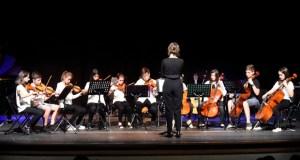 Concerto de fin de curso do Conservatorio e da Escola de Música do Barco