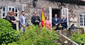 Xosé Benito Reza e Xosé Luís Axeitos reciben o Premio Antón Losada Diéguez