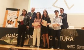 """Tres alumnos vianeses, entre os finalistas galegos do concurso """"¿Qué es un rey para ti?"""""""