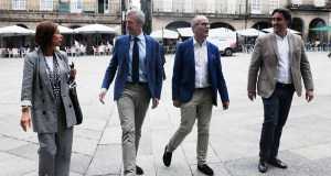 Rueda presenta en Ourense o proxecto de reforma e restauración da carpintería da Casa do Concello