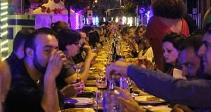 Preto de 500 persoas na cea do Carnavrao de San Cristóbal, na Rúa