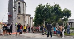 Exitosa xornada de actividades multiaventura en Trives
