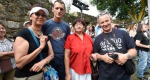 O Bolo e a música tradicional galega atraen a turistas rusos