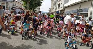 Unhas 150 persoas participan no XXVIII Día da Bici, na Pobra de Trives
