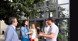Manzaneda e Larouco reciben a visita da conselleira do Medio Rural